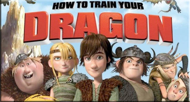 hot to train a dragon